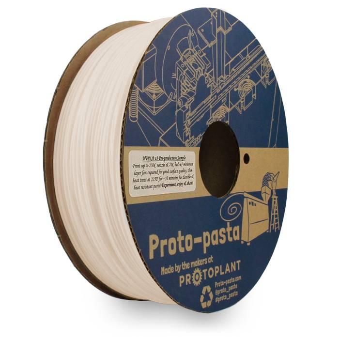 Proto-pasta 1.75 mm Premium HTPLA v3 filament, Natural