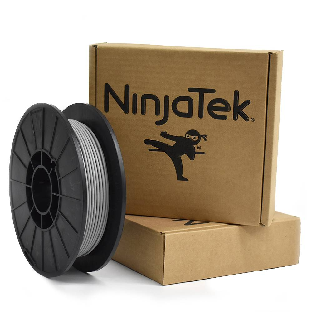 NinjaTek 1.75 mm Cheetah flexible filament, Steel