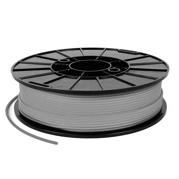 NinjaTek 1.75 mm NinjaFlex flexible filament, Steel