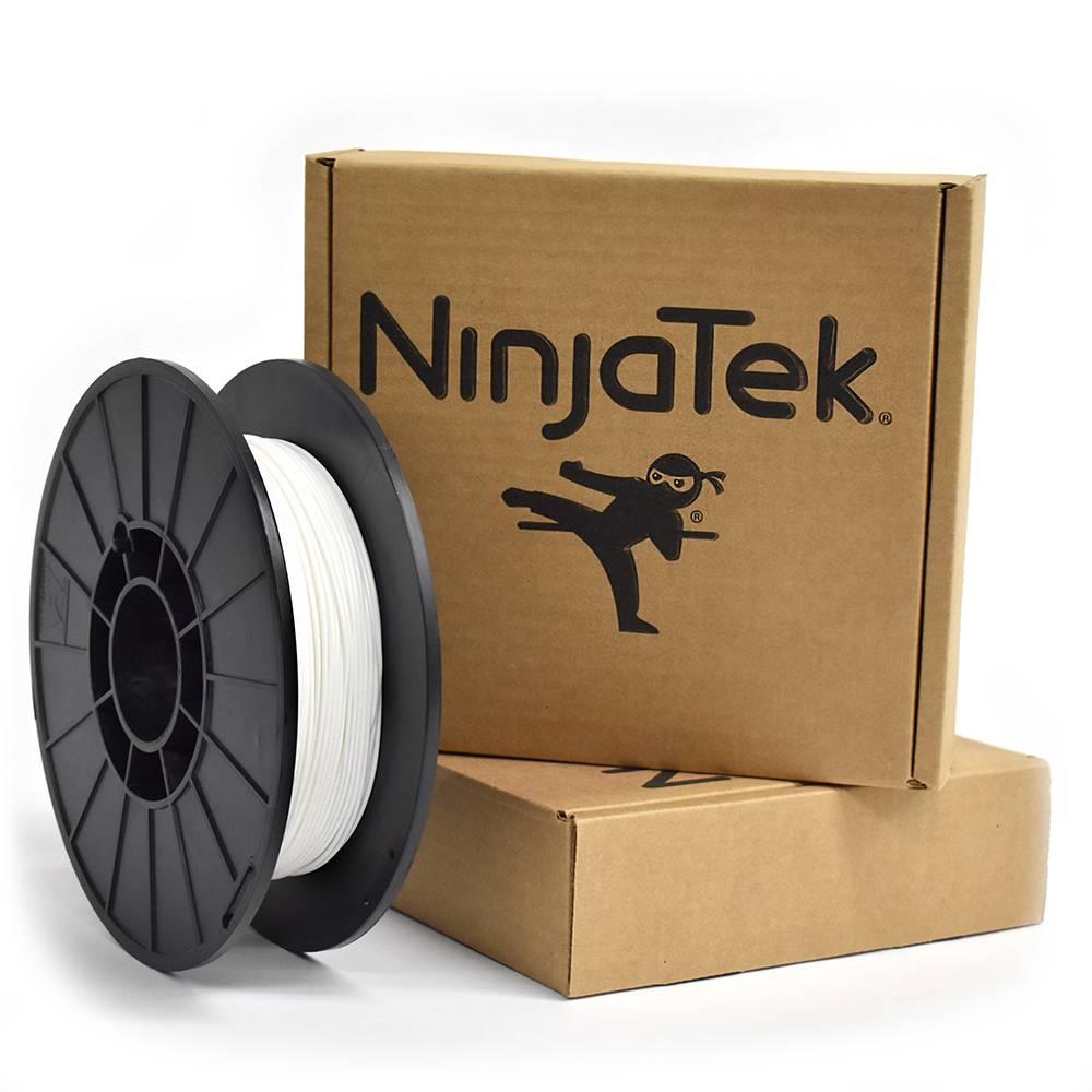 NinjaTek 1.75 mm Cheetah flexible filament, Snow White