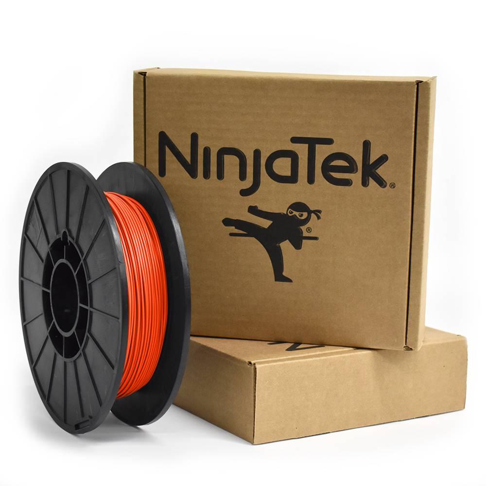NinjaTek 1.75 mm NinjaFlex flexible filament, Lava orange