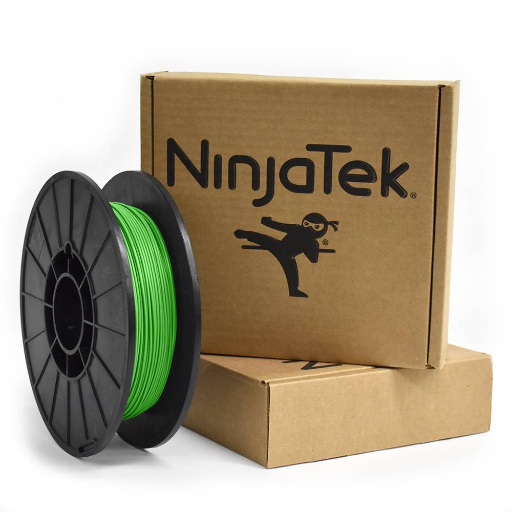NinjaTek 1,75 mm NinjaFlex filamento flessibile, Verde prato