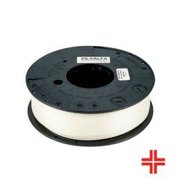 FiloAlfa 2,85 mm PLA Bioflex filamento medicale flessibile, Bianco