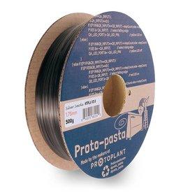 Proto-pasta 1,75 mm HTPLA filamento, Grigio fumo traslucido