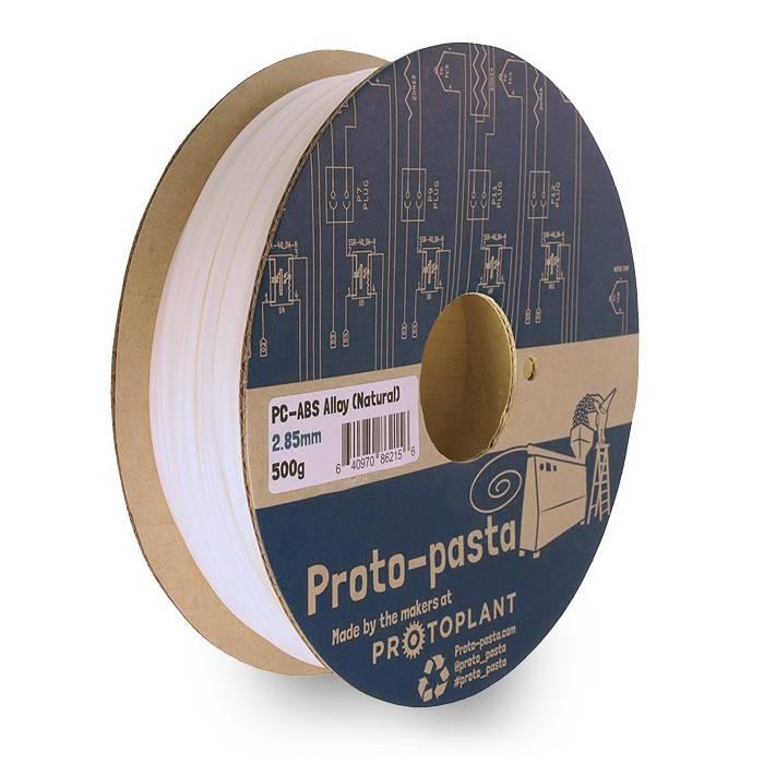 Proto-pasta 1,75 mm PC/ABS filamento, Naturale