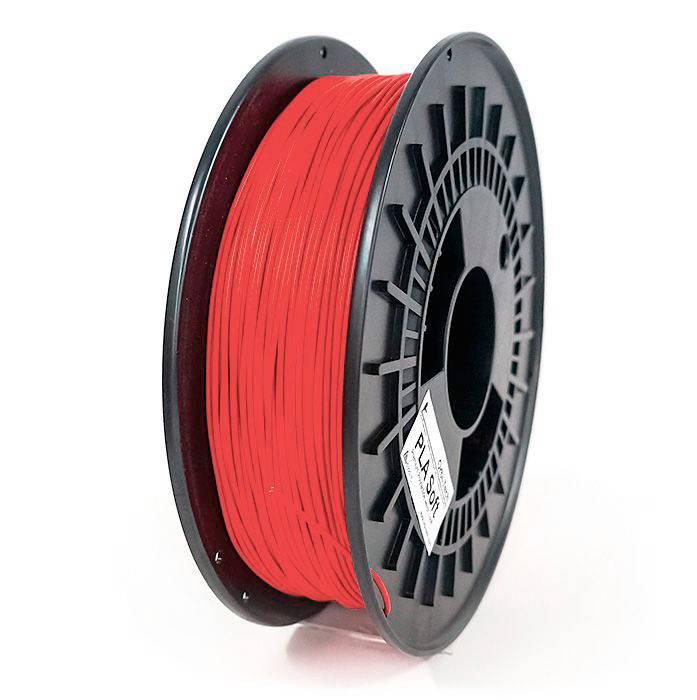 Orbi-Tech 1.75 mm PLA Soft flexible filament, Red