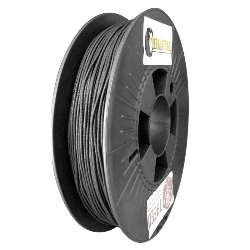 Treed 1,75 mm Pneumatique filamento TPU da pneumatici riciclati, Nero