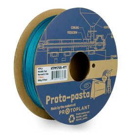 Proto-pasta 1.75 mm HTPLA filament, Mermaid's Tale Metallic Teal