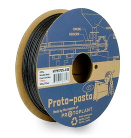 Proto-pasta 1,75 mm HTPLA filamento, Empire Strikes Metallic Black