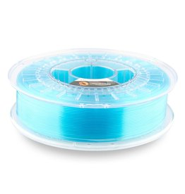 Fillamentum 2.85 mm PLA Crystal Clear filament, Iceland Blue