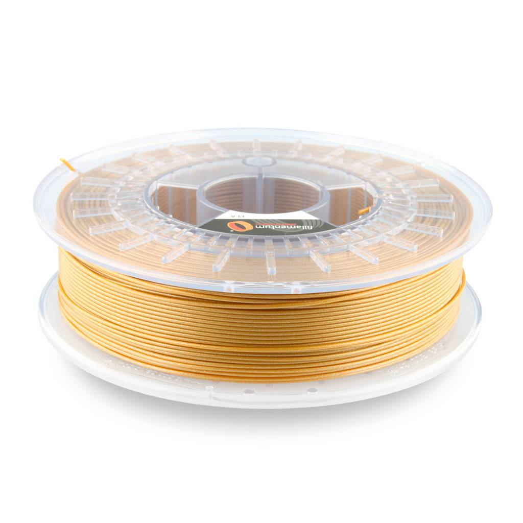 Fillamentum 1,75 mm PLA Extrafill filamento, Gold Happens