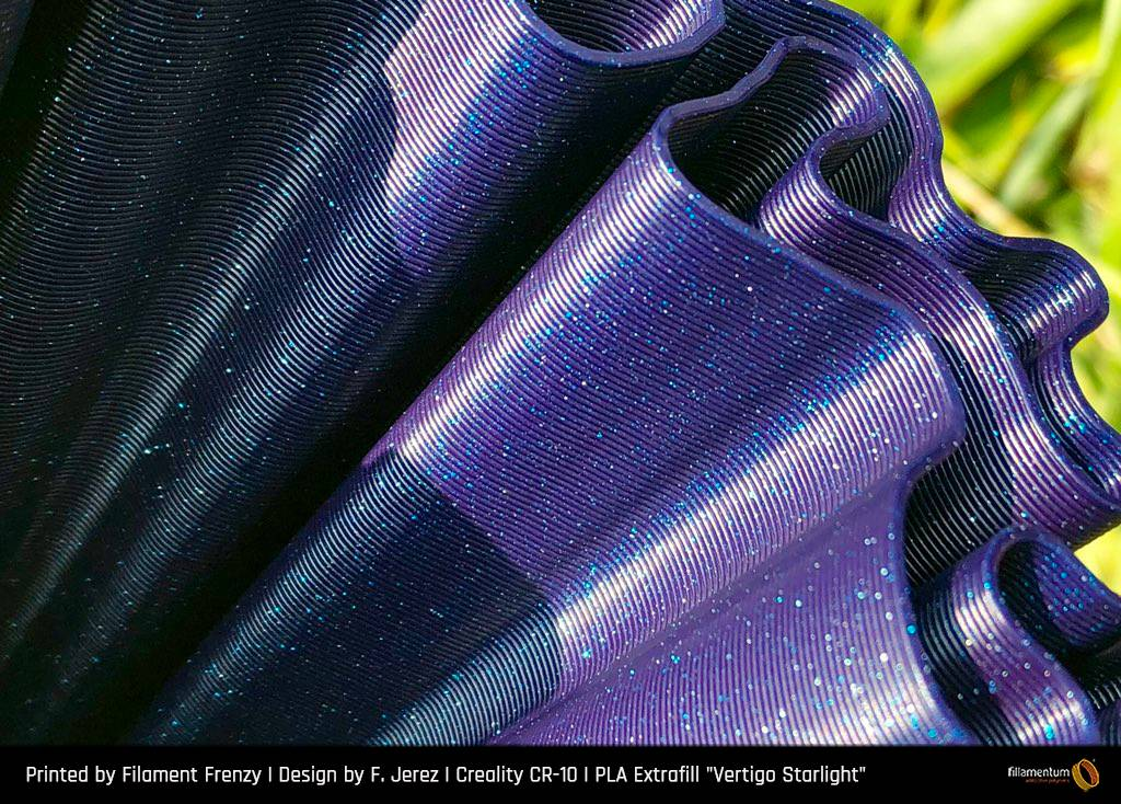 Fillamentum 1,75 mm PLA Extrafill filamento, Vertigo Starlight