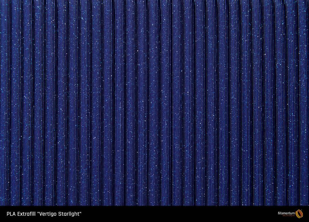 Fillamentum 1.75 mm PLA Extrafill filament, Vertigo Starlight