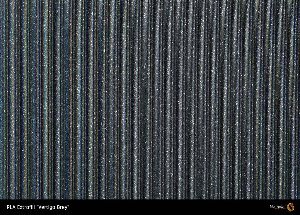 Fillamentum 2,85 mm PLA Extrafill filamento, Vertigo Grey