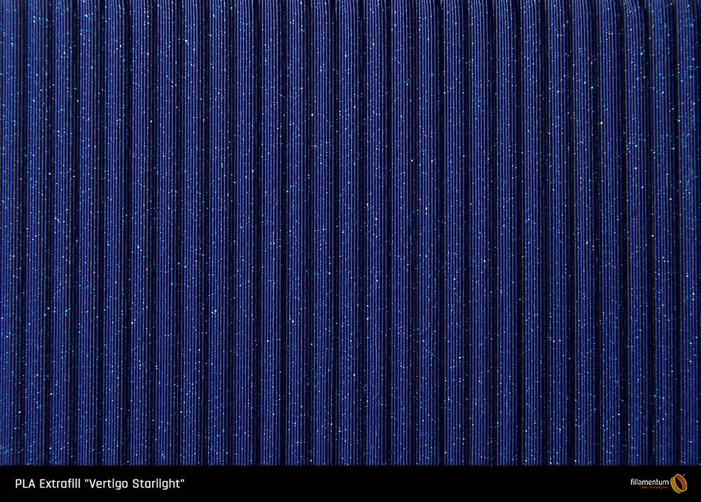 Fillamentum 2.85 mm PLA Extrafill filament, Vertigo Starlight