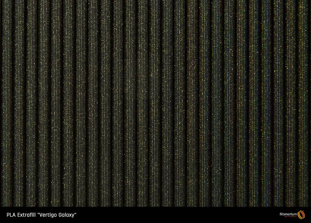 Fillamentum 285 mm PLA Extrafill filamento, Vertigo Galaxy