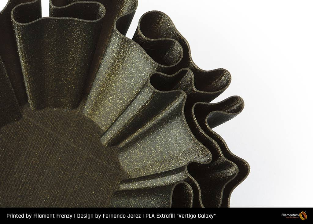 Fillamentum 2.85 mm PLA Extrafill filament, Vertigo Galaxy