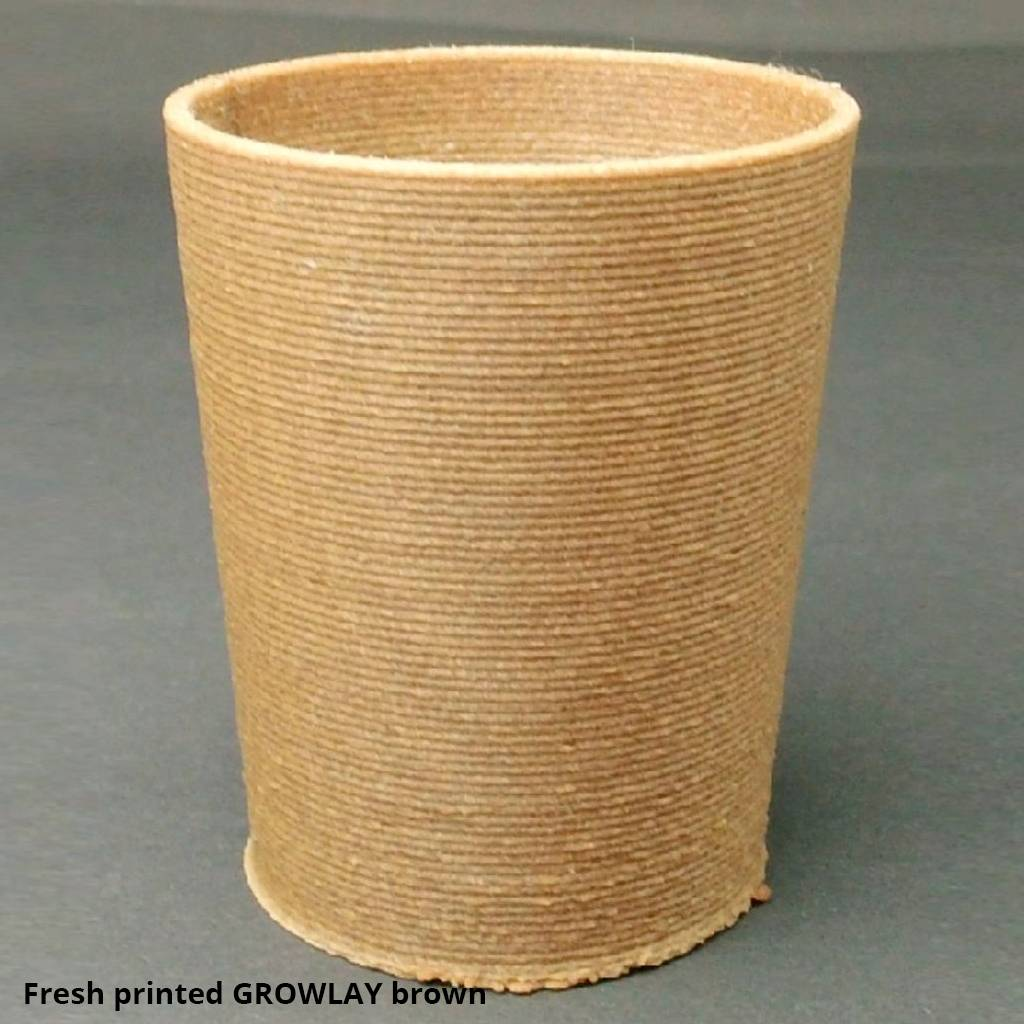 Lay Filaments 1.75 mm GrowLay filament for hydroponics, Brown