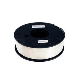 FiloAlfa 1,75 mm ALFAsilk filamento, Bianco organza