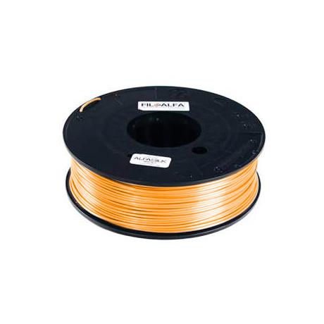 FiloAlfa 1,75 mm ALFAsilk filamento, Arancione georgette