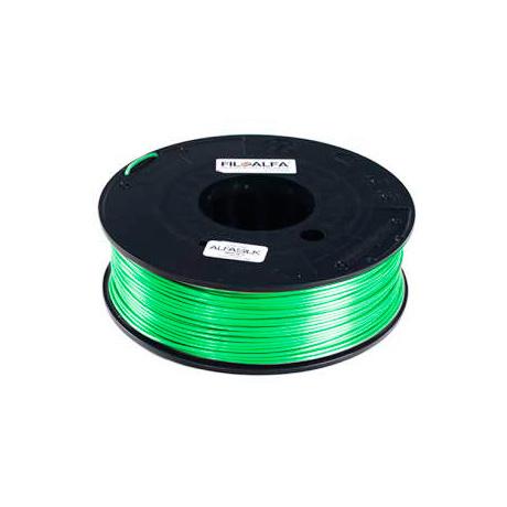 FiloAlfa 1,75 mm ALFAsilk filamento, Verde taffetà