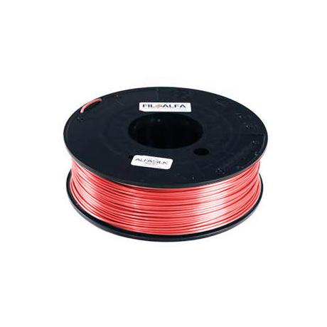 FiloAlfa 1,75 mm ALFAsilk filamento, Rosa saten