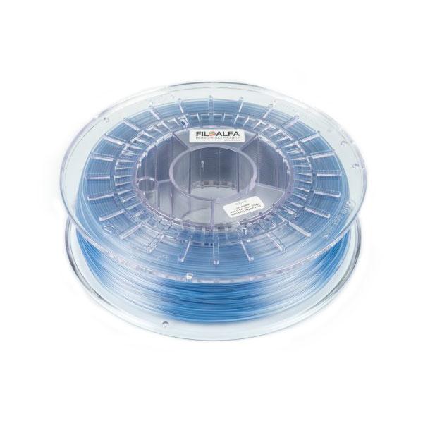FiloAlfa 1.75 mm PLA filament, Transparent Light Blue