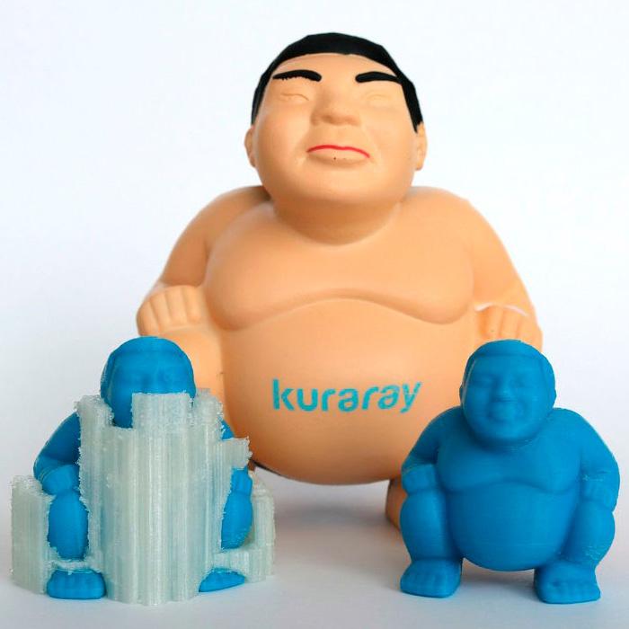 Kuraray 1,75 mm PVOH Mowiflex™ 3D 2000 filamento idrosolubile in acqua