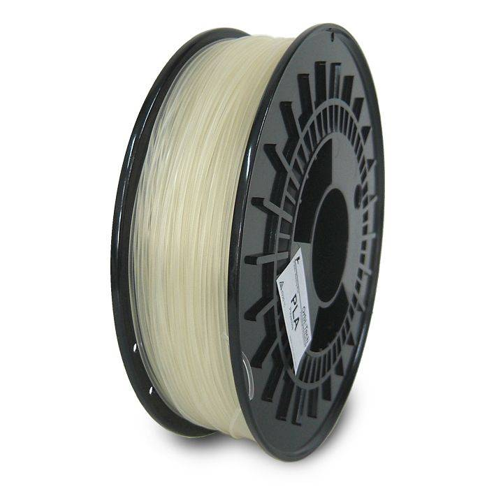 Orbi-Tech 1.75 mm PLA filament, Transparent
