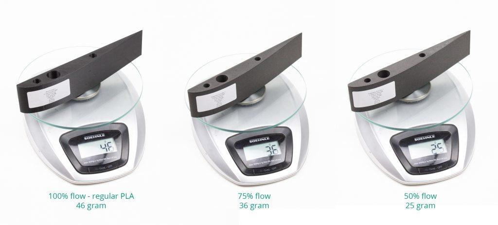 ColorFabb 1.75 mm LW PLA low density filament, Natural
