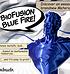 Extrudr 1,75 mm Biofusion filamento finitura seta, Blu