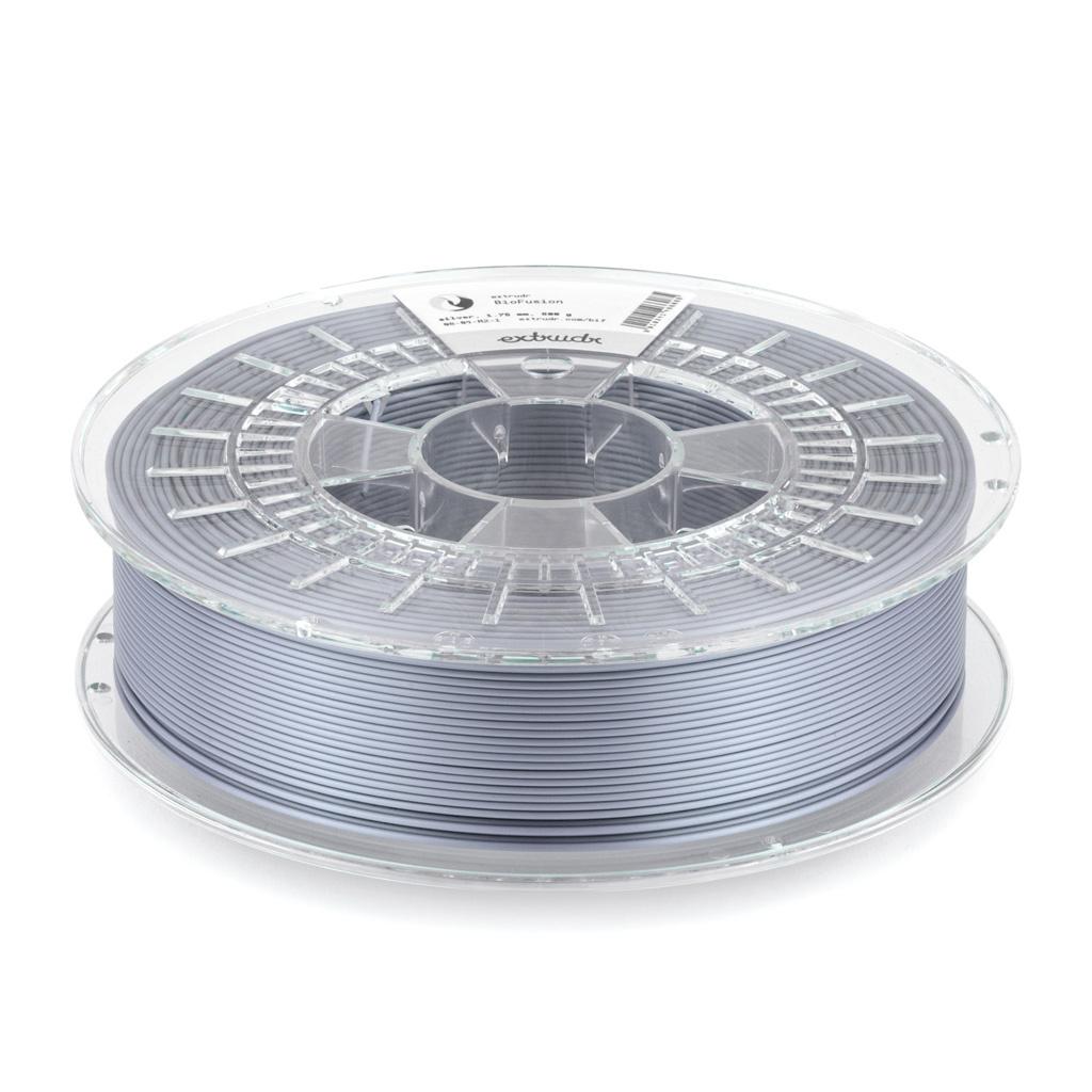 Extrudr 1,75 mm Biofusion filamento finitura seta, Silver