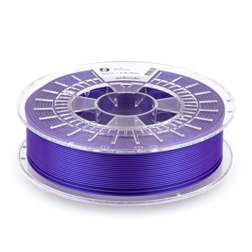 Extrudr 1.75 mm Biofusion filament silk finish, Epic Purple