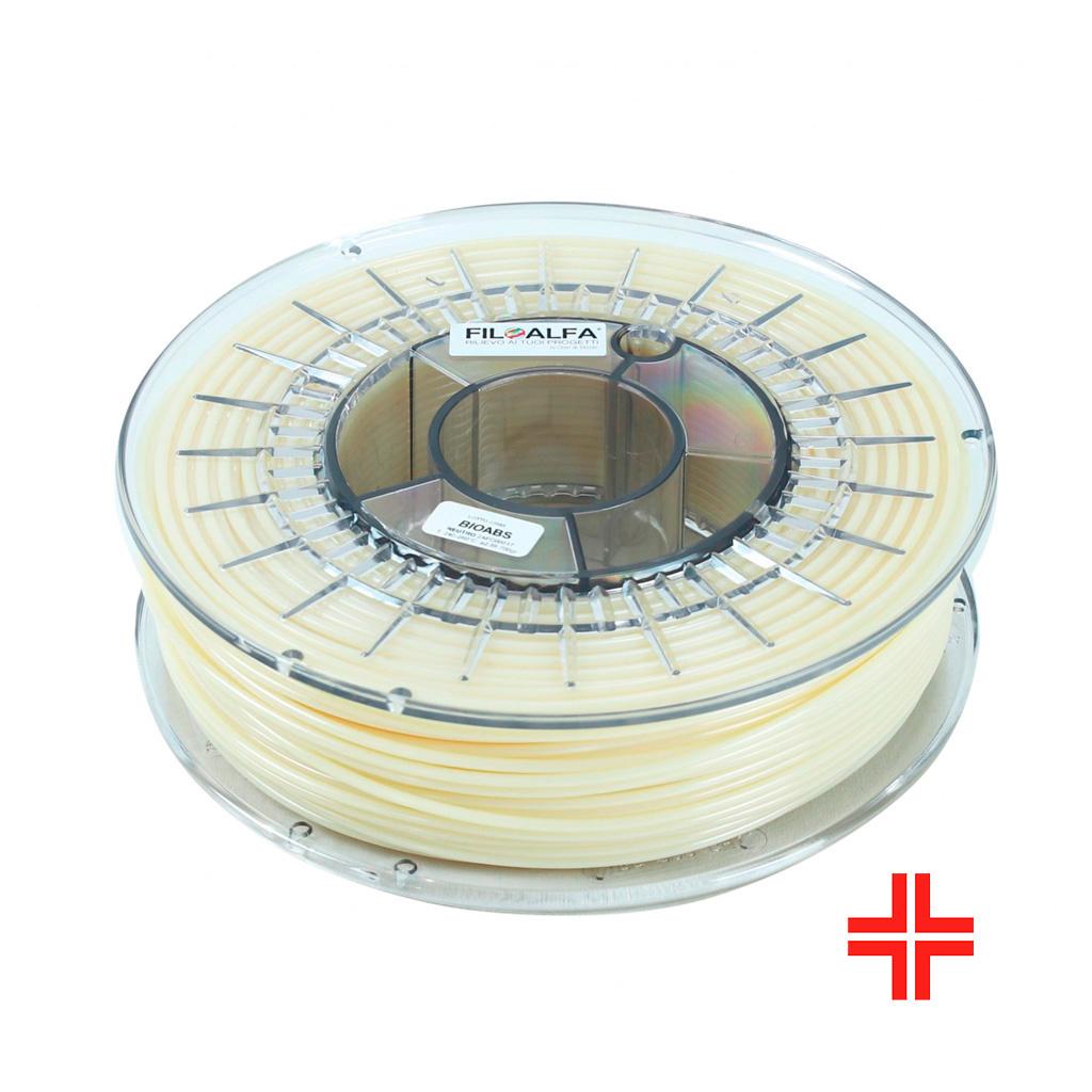 FiloAlfa 1.75 mm ABS-3d FC medical filament, Natural