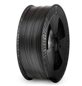 Extrudr 1,75 mm NX2 filamento PLA finitura opaca, Nero - Bobina XL