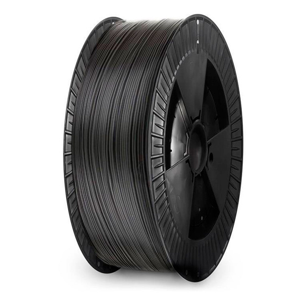 Extrudr 1.75 mm NX2 PLA filament Matt finish, Black - Big spool