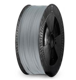 Extrudr 1,75 mm NX2 filamento PLA finitura opaca, Silver - Bobina XL