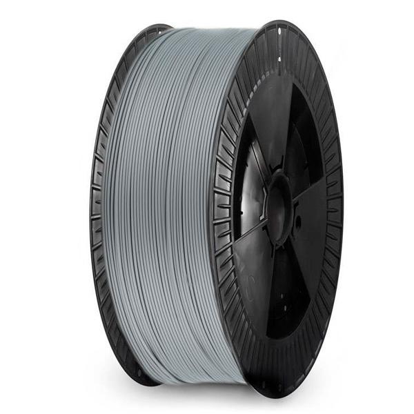 Extrudr 1.75 mm NX2 PLA filament Matt finish, Silver - Big spool