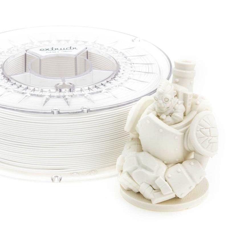 Extrudr 1.75 mm PLA NX2 filament Matt finish, White