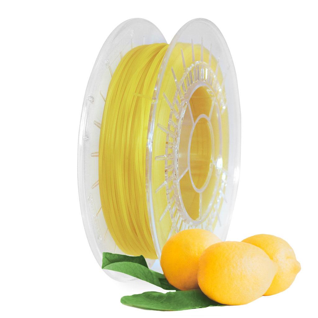 Tecnikoa 1,75 mm TPU Filafresh® filamento flessibile profumato, Limone