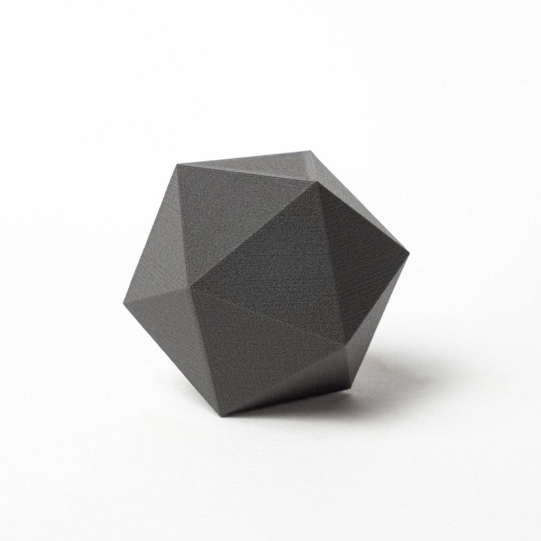 Proto-pasta 1,75 mm Magnetic Iron PLA filamento magnetico, Nero