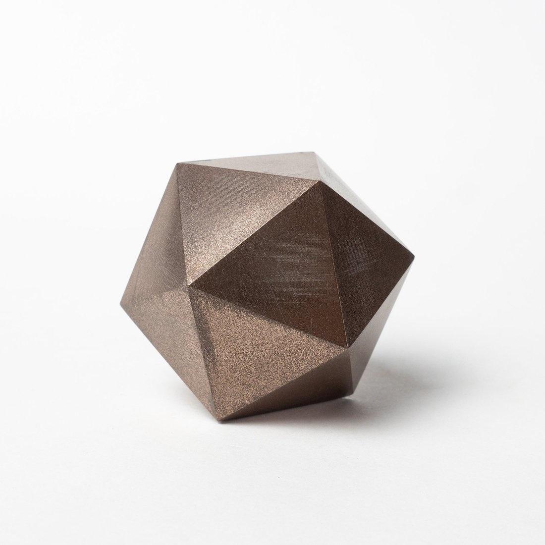 Proto-pasta 1.75 mm Bronze Metal HTPLA filament