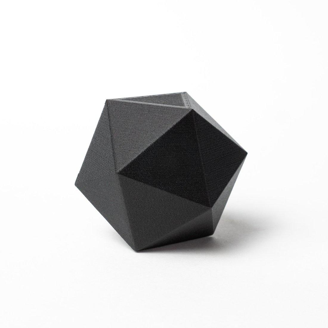 Proto-pasta 1,75 mm PLA con fibre di carbonio filamento, Nero