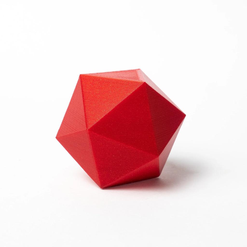 Proto-pasta 1,75 mm HTPLA filamento, Candy Apple Metallic Red