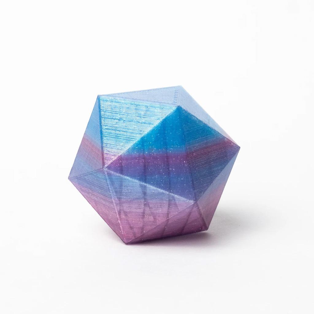 Proto-pasta 1,75 mm HTPLA filamento, Nebula multicolore