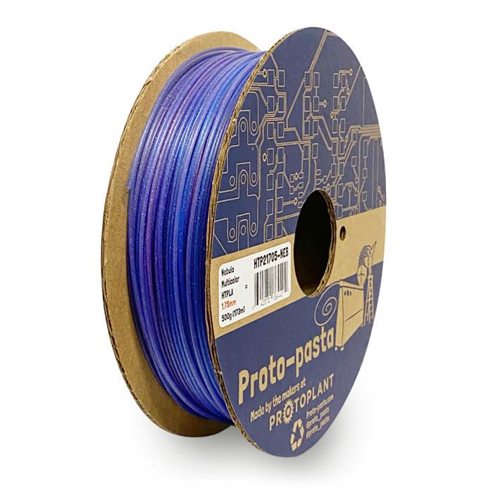 Proto-pasta 1.75 mm HTPLA filament, Nebula multicolor
