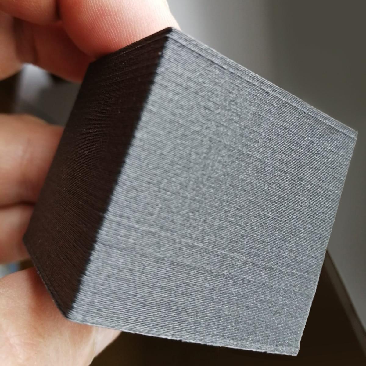 feelcolor 1,75 mm PETG filamento con  fibre di carbonio, Nero
