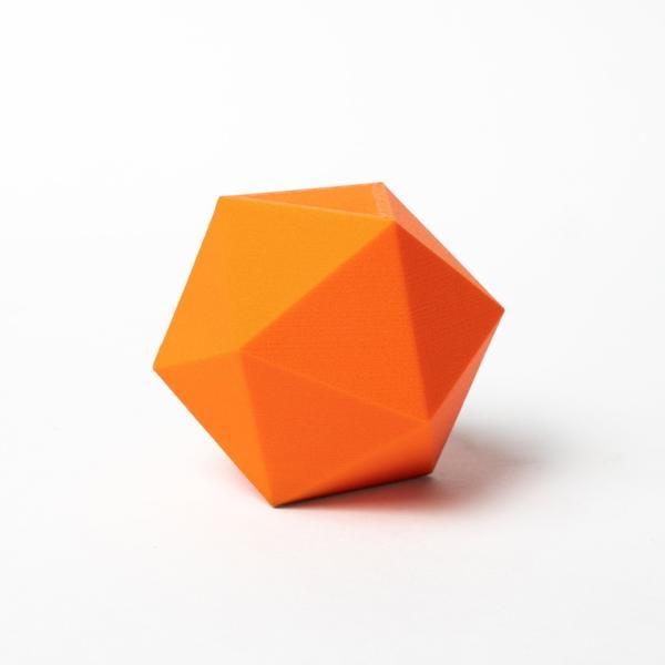 Proto-pasta 1.75 mm Matte Fiber HTPLA filament, Orange