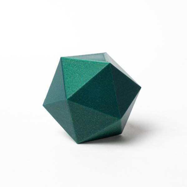 Proto-pasta 1,75 mm HTPLA filamento, Cloverleaf Metallic Green