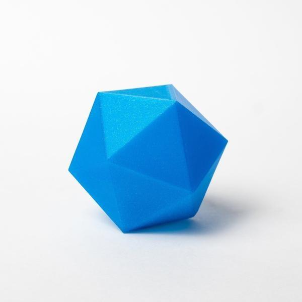 Proto-pasta 1,75 mm HTPLA filamento, Glitter Winter Blue